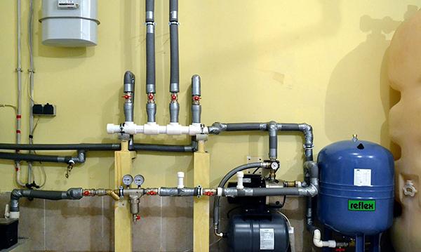 Монтаж водоснабжения в частном доме, коттедже под ключ